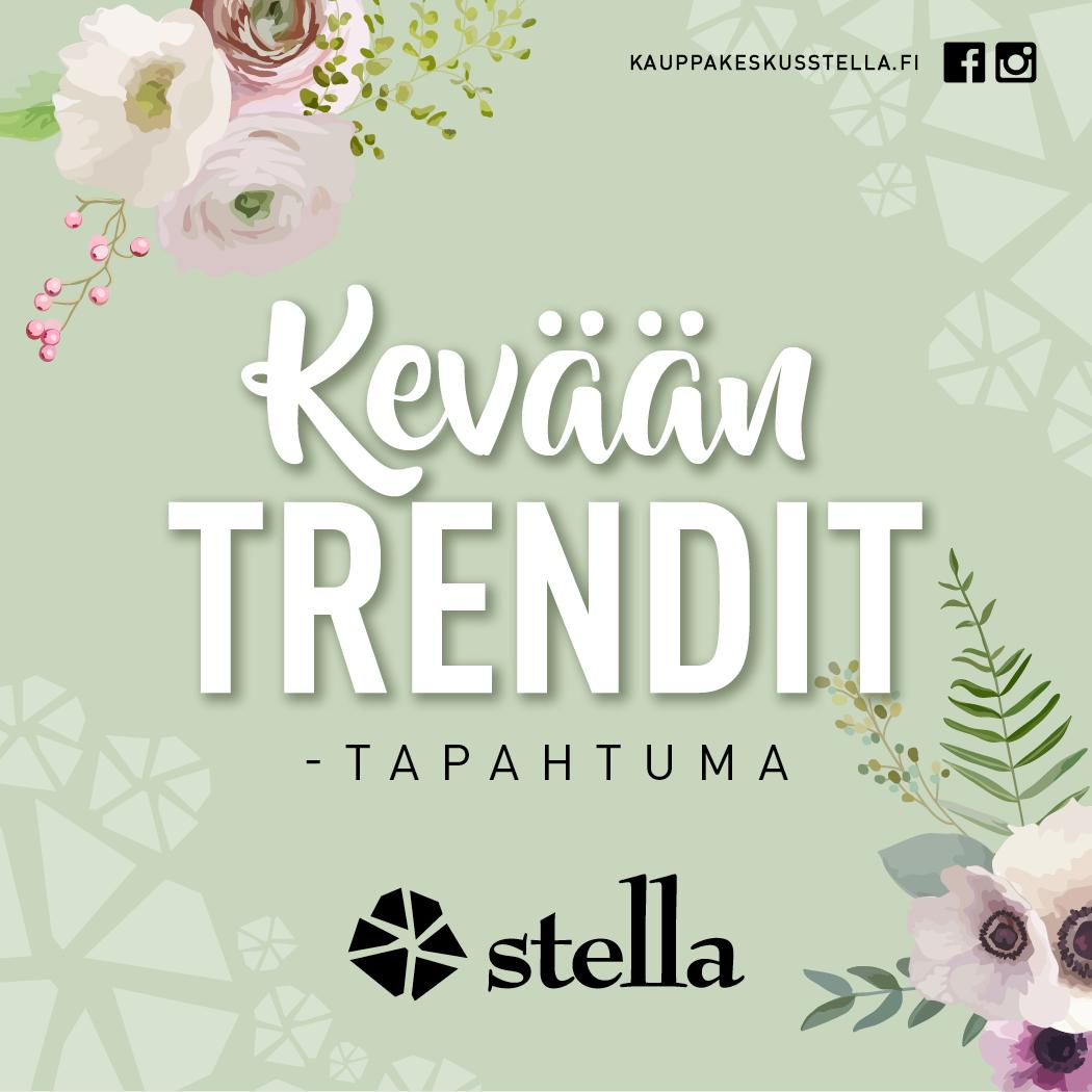 Kauppakeskus Stella: Kevään trendit
