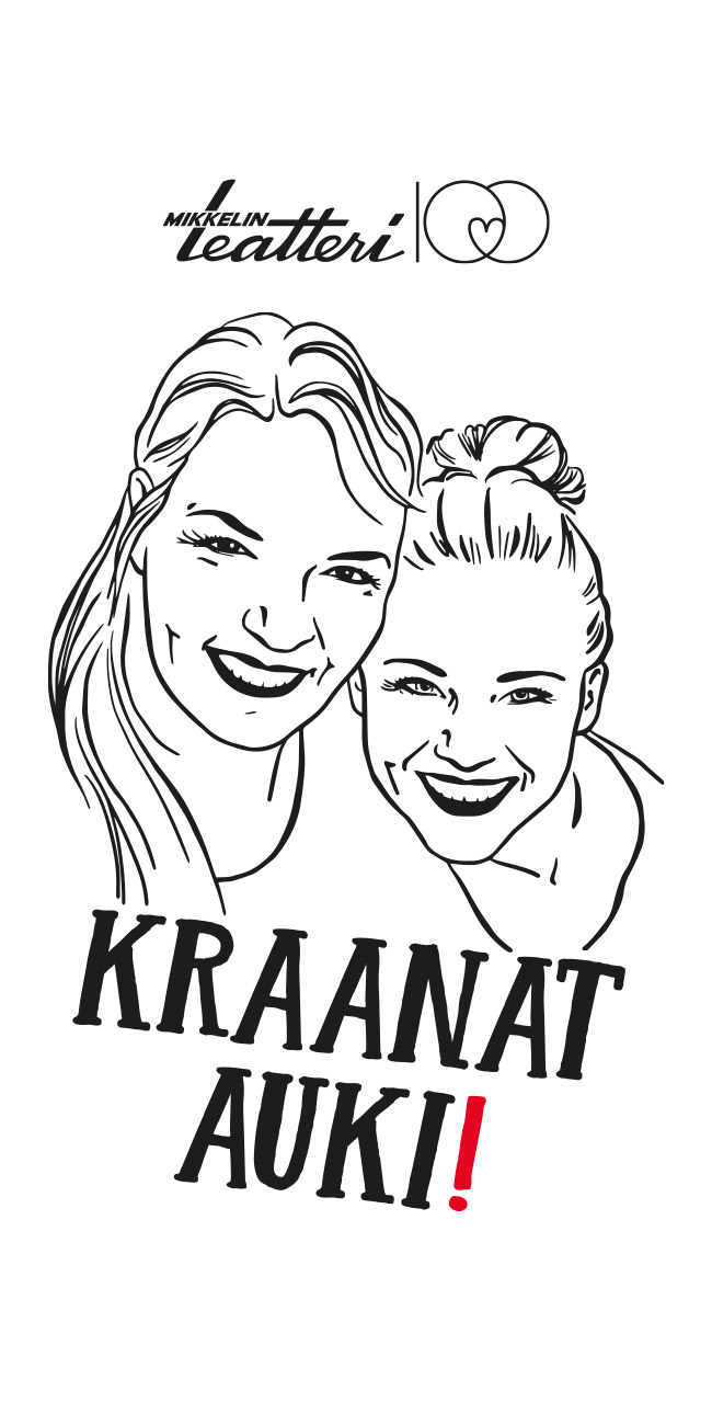 Näytelmän ilmeen suunnittelu ja kuvitus / Kojootti Design