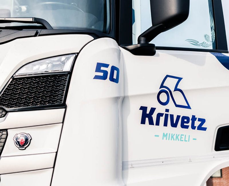 Yritysilmeen uudistus: Kuljetusliike Krivetz