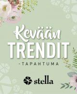 Kauppakeskus Stellan tapahtumailme by Kojootti Design