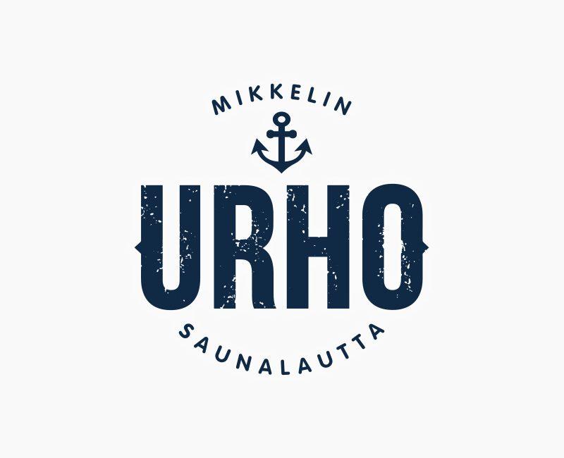Logosuunnittelu Mikkelin saunalautta Urholle.
